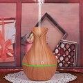 USB деревянная винтажная ваза увлажнитель воздуха ультразвуковой с ароматическим эфирным маслом ароматерапия диффузор 7 цветов светодиодны...