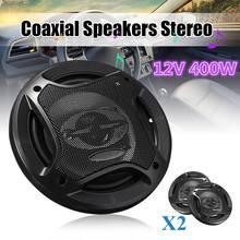 6.5 Inch 400W 2 Pcs Car Audio Speaker 4