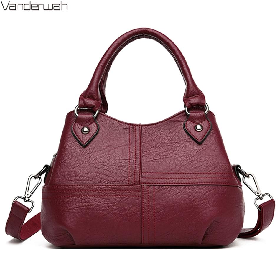 Ladies Hand Tote Bag 3 Layers Pocket High Quality Luxury Handbags Women Bags Designer Crossbody Bags For Women 2020 Sac A Main