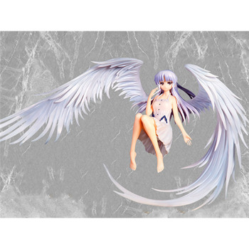 Anime Angel Beats! Tachibana Kanade Archangel wings PVC Action Figure Collectible Model Toys Children For Christmas Gift