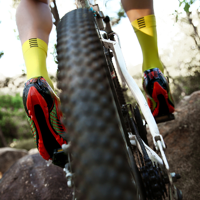 Novos homens e mulheres na estrada, mountain bike, bicicleta ultra-leve calçados esportivos, auto-bloqueio profissional respirável 4