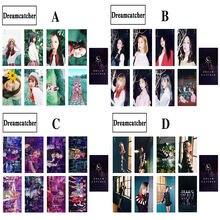 8 шт/компл kpop альбом «Ловец снов» двусторонняя маленькая карточка