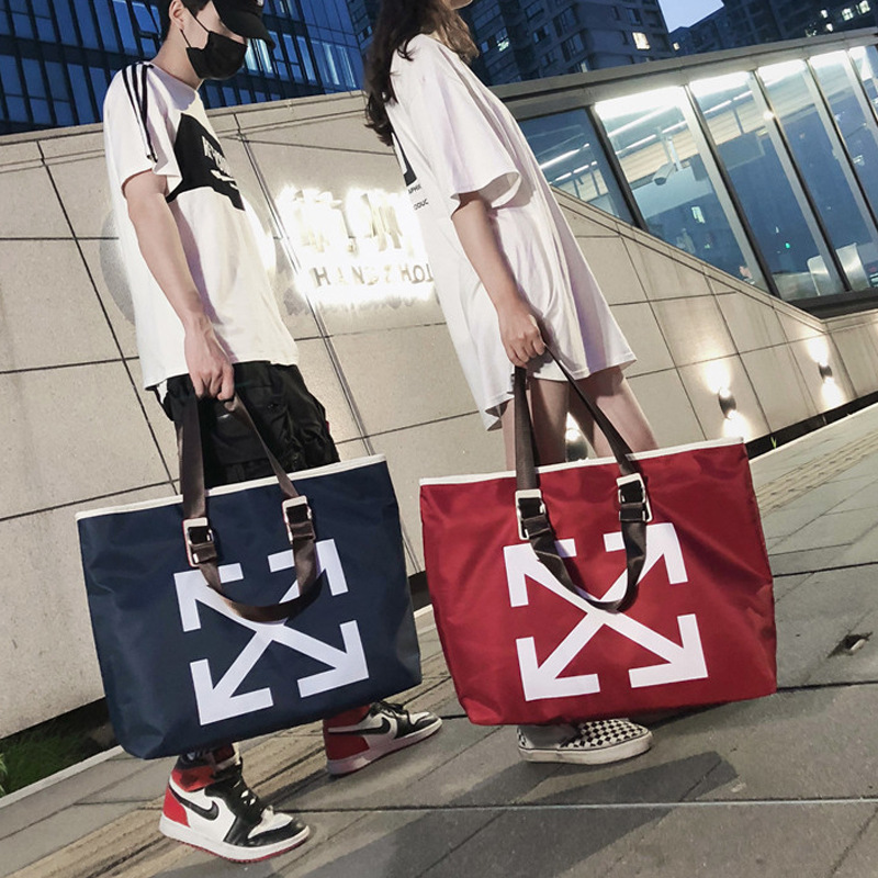 2019 Korean Style Hand Luggage Large Capacity Waterproof Travel Bag Men Women Travel Luggage Bag Large Nylon Duffle Bag