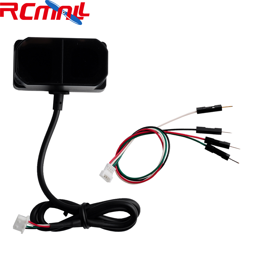 TFmini Plus Laser Lidar Range Finder Sensor IP65 Waterproof Dustproof TOF LiDAR Module, UART I2C IIC I/O 0.1m~12m