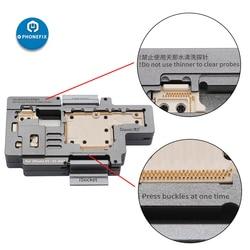 QIANLI iSocket pour iPhone X XS XSmax carte mère Test montage pour iPhone Double-pont carte mère fonction testeur outil de Diagnostic