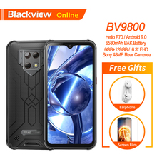 "Blackview BV9800 IP68 Robuuste Smartphone 48MP Camera 6.3 ""Fhd + Waterdrop Helio P70 6 Gb 128 Gb Android 9.0 Nfc Mobiele Telefoon"
