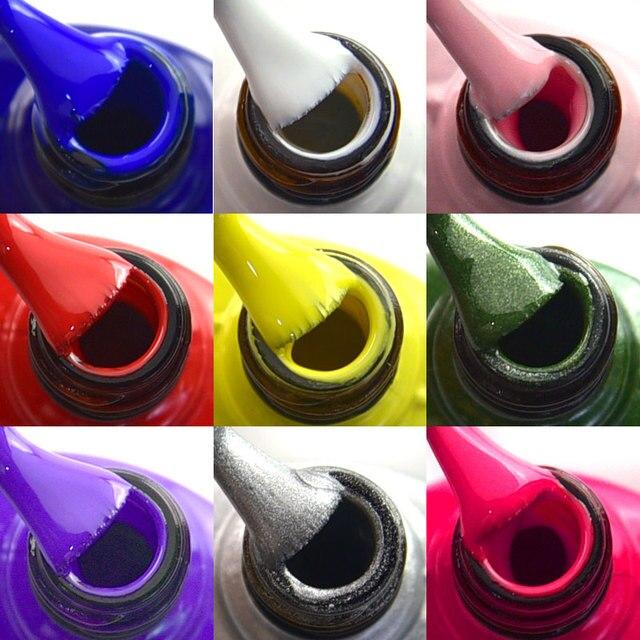 7.5ml VENALISA Nail Gel Polish High Quality Nail Art Salon 60 Colors Soak off UV LED Nail Gel Varnish Camouflage Color Lacquer 3