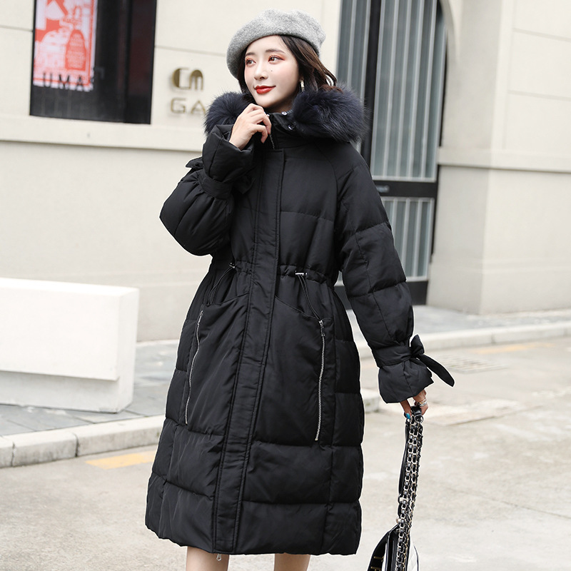 Jacket Women White Duck Down Coat Winter Down Jacket Women Jacket Korean Puffer Jacket Veste Femme 8098 YY1289