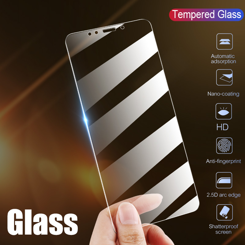 Full Cover Glass on the For  iPhone X XS Max XR Tempered Glass For iPhone 7 8 6 6s Plus 5 5S SE 11 Pro Screen Protector 3