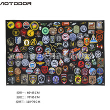 Ao tu duo er липучка значок для хранения постер армейские вентиляторы нарукавная Эмблема для организации ткани липучка настенный дисплей