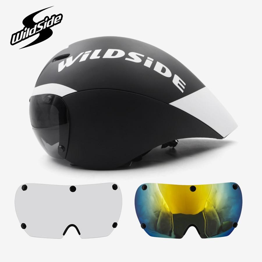 Course tt cyclisme casque lentilles lunettes Triathlon tri aero casque route vélo chronomètre vélo casque Casco Ciclismo accessoires 2019