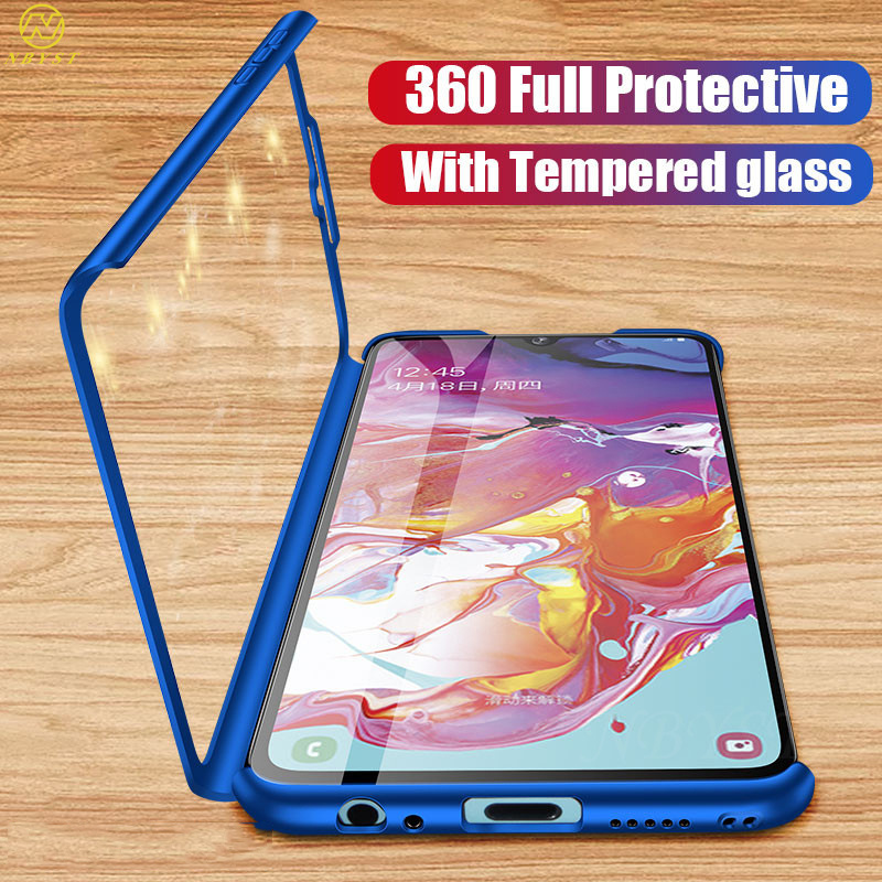 Luxury 360 Full Protective Phone Case For Huawei Y9 Y7 Prime Y6