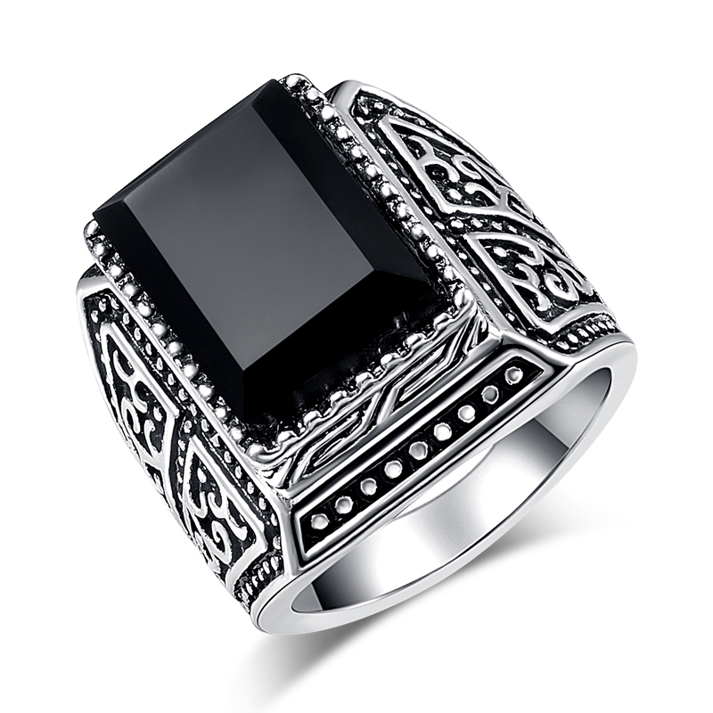 Wbmqda-Vintage-Silver-Black-Stone-Rings-For-Women-Fashion-6-Different-Styles-Big-Man-Ring-Jewelry (4)