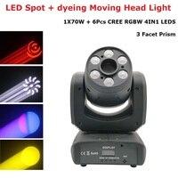 100W Mini LED DMX Gobo Moving Head Spot Light Club Dj Stage Lighting Beam Wash Party Projector Disco Lights For LED Par KTV Show