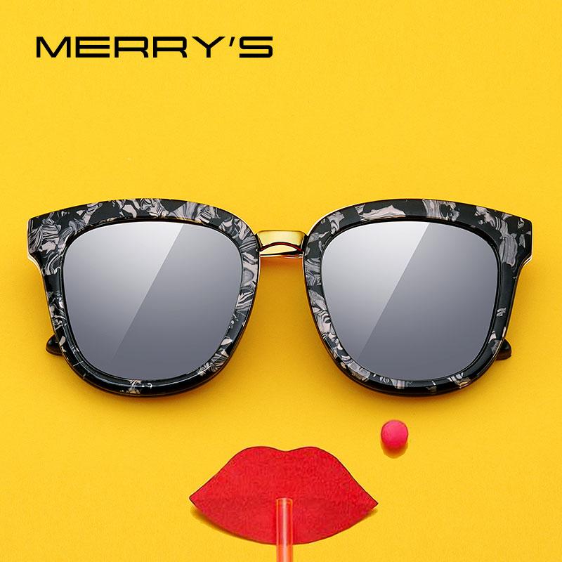 MERRYS DESIGN Women Fashion Square Polarized Sunglasses Ladies Luxury Brand Trending Sun Glasses UV400 Protection S6082N