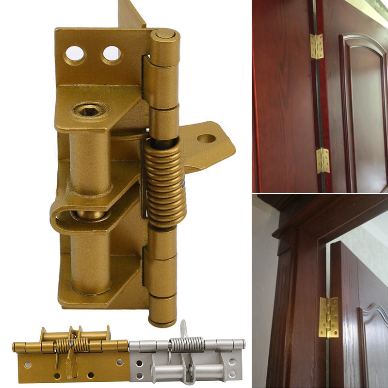 Spring Hinge Durable Accessories Multifunction For Automatic Self Closing Doors Home FAS6