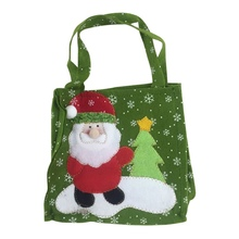Christmas Candy Bag Portable Candy Treats Bags Stockings Gif