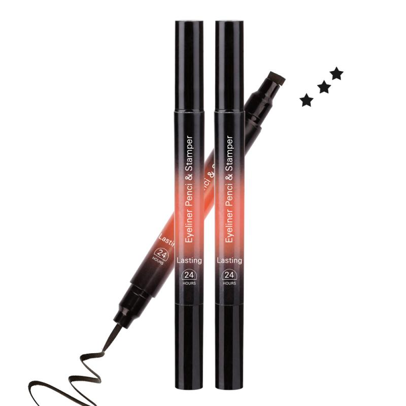 2020 Women 1 Pcs Eyeliner Liquid PenLong Lasting Quick Drying Smooth Makeup Beauty Matte Eyeliner Waterproof Eye Pencil TSLM1
