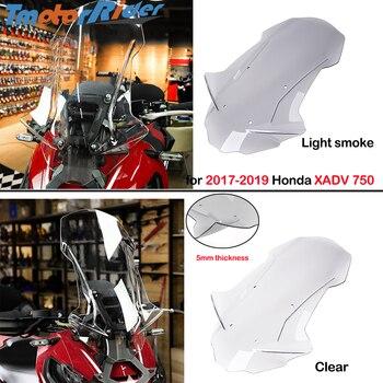Motorcycle XADV 750 Windscreens Wind Deflectors Scratch resistant Scooter windshield for 2017 2018 2019 Honda X-ADV 750 XADV750