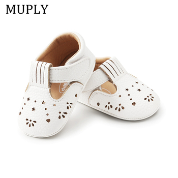 2020 New Baby Girls First Step Shoes Moccasins Soft Bottom Rubber Non-slip Toddler Walkers Booties - discount item  29% OFF Baby Shoes