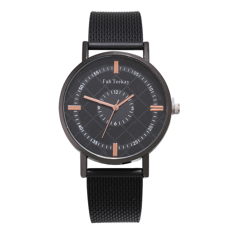 Ebey Hot Money Scale Black Man Two Laps Of Digital Fashion Watches Network Strap Luxury Shi Yingnan Performance Goods