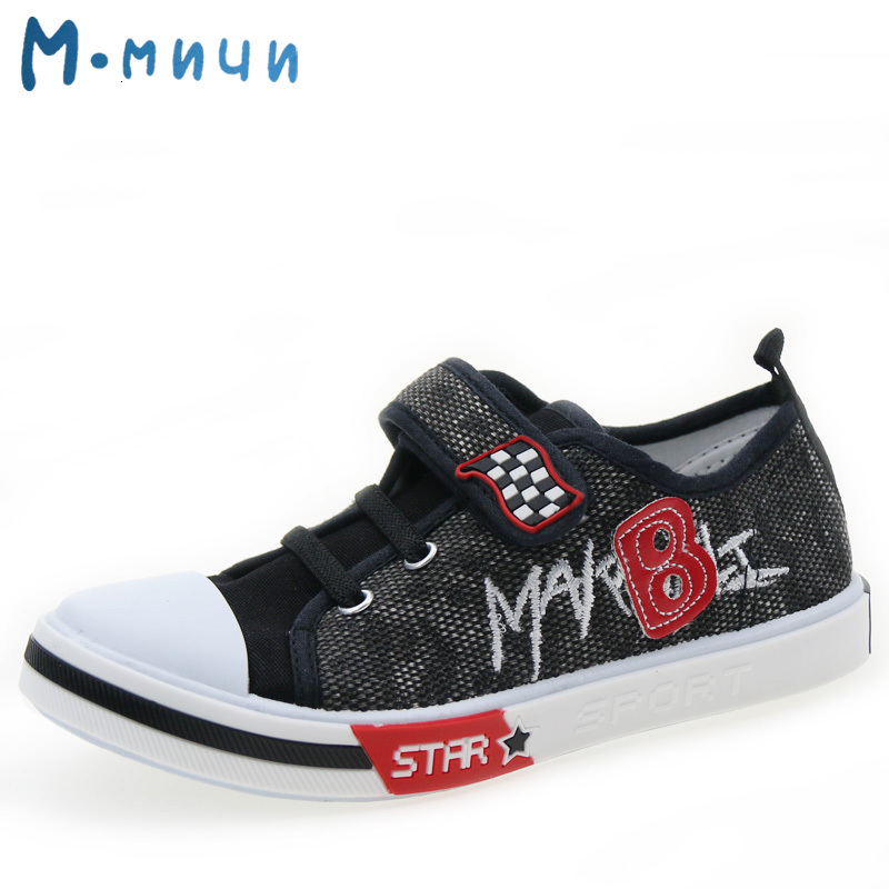 MMnun 3=2 Children's Sneakers Shoes For Kids Boy Shoes Kids 2019 Kids Shoes For Boys Flat With Canvas Shoes Size 25-30 ML1494