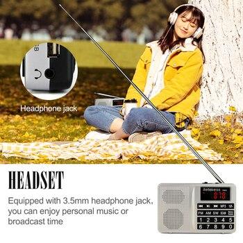 Радиоприемник RETEKESS TR603 AM/FM/SW MP3 TF-Card 5