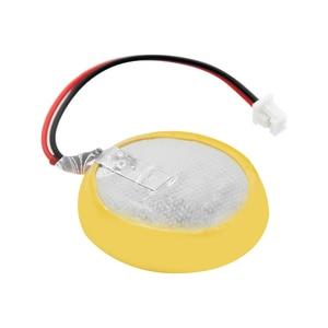 Image 2 - Nouveau véritable CR2450 CR2450N batterie avec broche à souder fil bonders CR 2450 3V pour AFPX BATT FP X série PLC Batteries