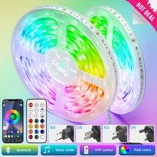 Led Strips Lights Bluetooth 5050 RGB Warm White RGBWW Led lights Flexible Ribbon 5M-30M Tape Diode Phone Wifi Remote Control Set