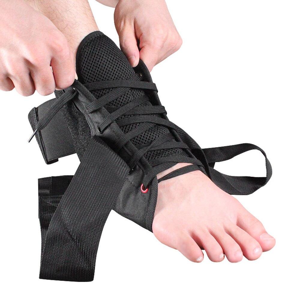 Equipamentos de Proteção Ginásio de Fitness Weave Sports Ankle Brace Compressão Strap Mangas Apoio Bandagem Elástica pé 3d