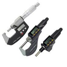 0-25 мм цифровой микрометр Электронный микрометр 0,001 мм микрон наружный микрометр Калибр измерительные инструменты дешевая цена