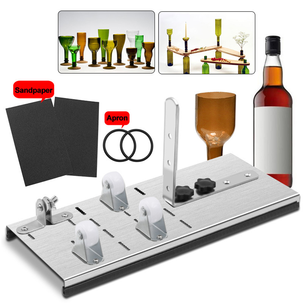 New Glass Bottle Cutter Tool Professional Bottles Cutting Glass Bottle-cutter DIY Cuting Machine Wine Beer