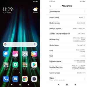 "Image 4 - Version mondiale Original Xiaomi Redmi Note 8 4GB RAM 64GB ROM 6.3 ""Snapdragon 665 48MP 4000 mAh 18W empreinte digitale visage ID infrarouge"