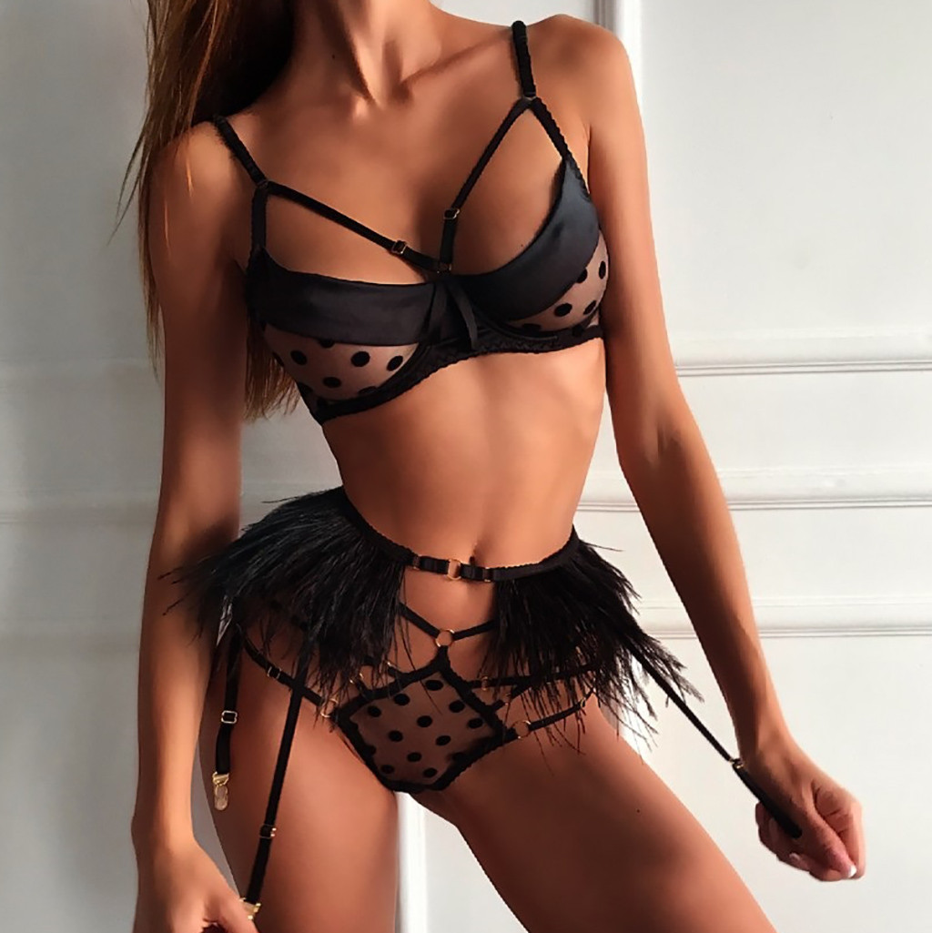 Bra Garter Brief Set