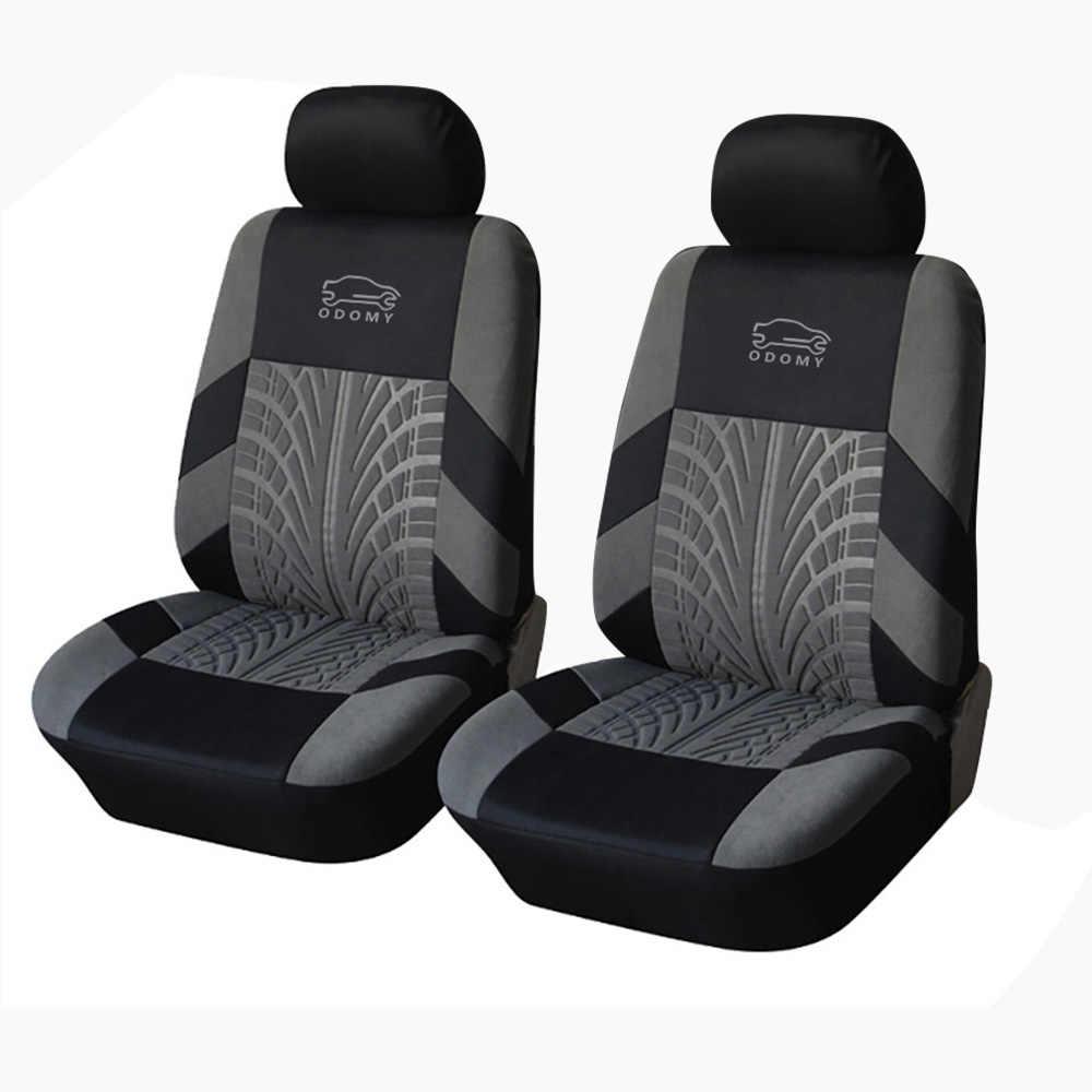 Fundas antideslizantes para asiento de coche Protector Universal para asiento de coche con detalle de seguimiento de neumáticos Ajuste de estilo para la mayoría de accesorios de interior de vehículo