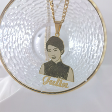 Pendants Necklaces Nameplate Custom Personal-Name Jewelrly Photo-Picture Cartoon-Character