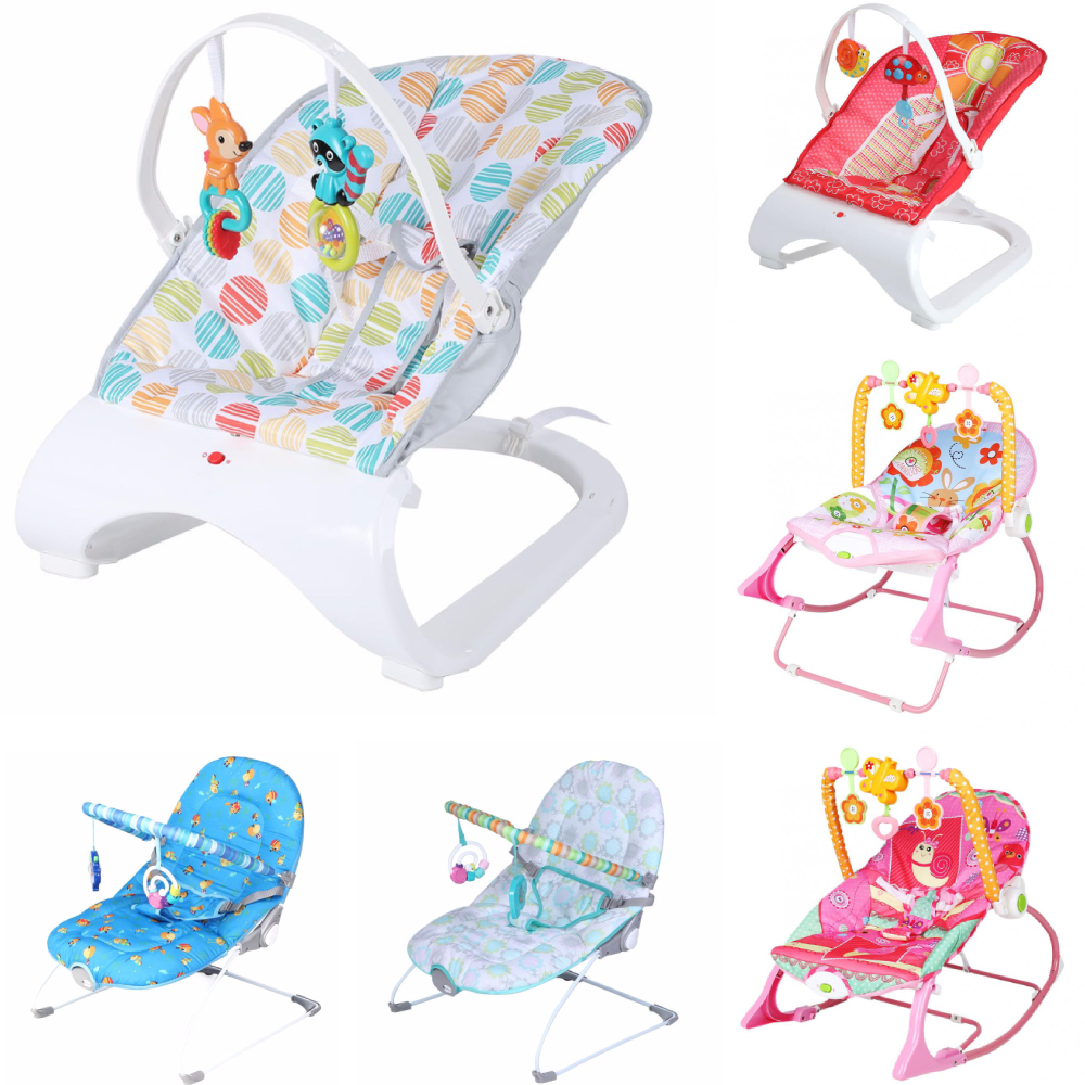 H3605dd2f00164f0aafa783053b7c3c625 Infant Baby Rocker Electric Rocking Chair Cradle Newborn Comfort Vibration Rocking Chair Soothing The baby's Artifact Sleeps