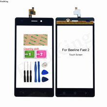 5'' Mobile Touch Screen Glass For Beeline Fast 2 Fast2 Touch Screen Digitizer Touch Panel Front Glass Lens Sensor Tools Adhesive