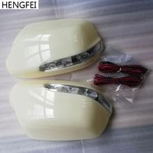 Accessori auto modificate Hengfei della copertura Dello Specchio con LED indicatori di direzione della lampada Per Mazda 3 6 M3 M6 Rear view Mirror shell