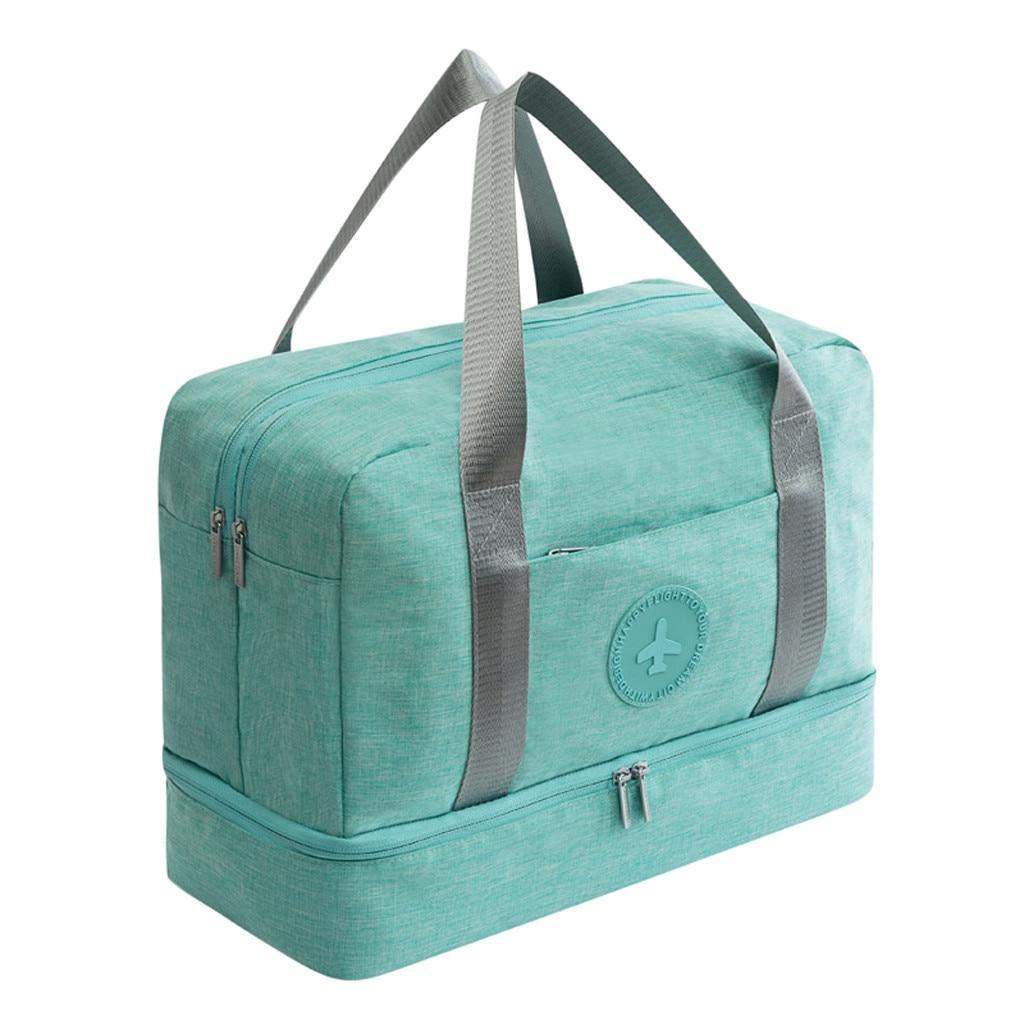 Travel Organizer Bag Large Capacity Luggage Bag School Man Women Travel Carry on Luggage Dry Wet Separation Storage Bag Bolsas