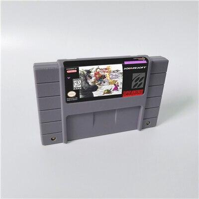 Chrono Trigger or Crimson ecos o llama de la eternidad o Prophets Guile tarjeta de juego RPG versión de EE. UU. Batería en inglés guardar