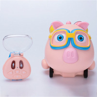 NEW Network popular Chinese version mini talk pig Spray child watch remote control car smart follow Childen toys gift
