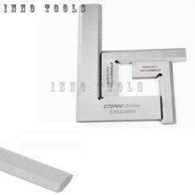 63x40 80x50 125x80 cuchillo de precisión borde Escuadra de 90 grados Regla De Ángulo Recto ingeniero MeasuringTool