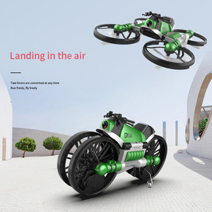 Image 3 - NEW drone with camera 2.4G remote control Helicopter deformation motorcycle folding four axis aircraft rc Quadcopter toy for kid