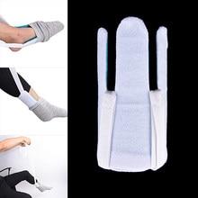 Dropshipping 2019 meias flexíveis e suporte de estocagem-ajuda a colocar meias na mobilidade ajuda à deficiência