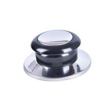 Lids-Knob Replacement-Parts Cookware Lifting-Handle Heat-Resistant-Pot Silver Kitchen