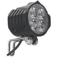 Ebike E Bike 12V 24V 36V 48V 60V 72V Electric Bicycle Light with Horn Waterproof High Quality Headlight Horn Set Front Headlight|Bicycle Light|   -