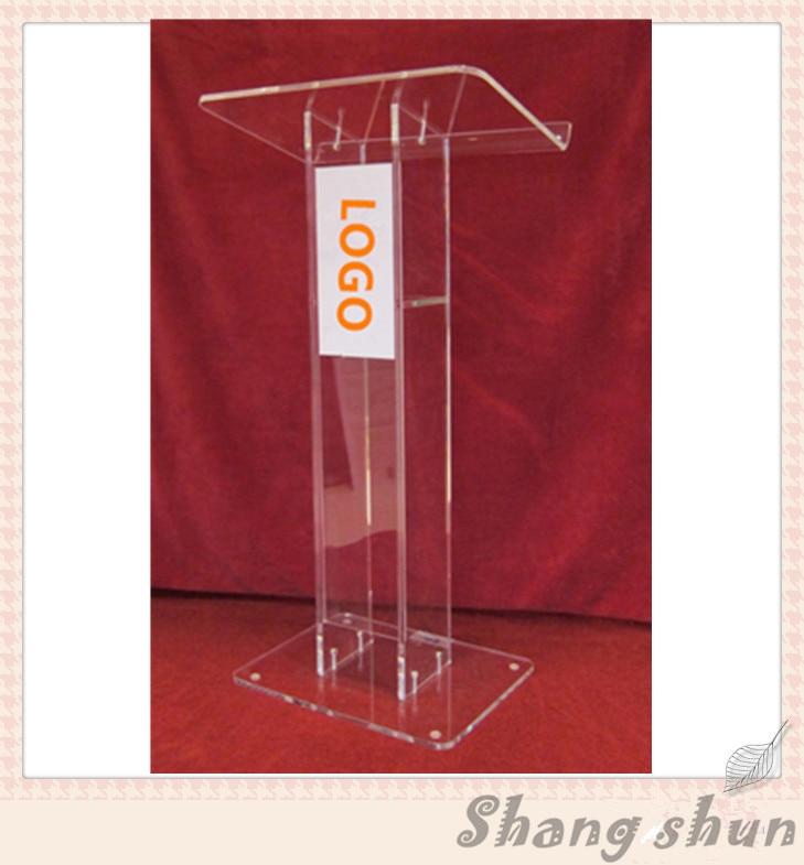Shenzhen Custom Church Podium, Crystal Acrylic Pulpit, Acrylic Podium Pulpit Lectern