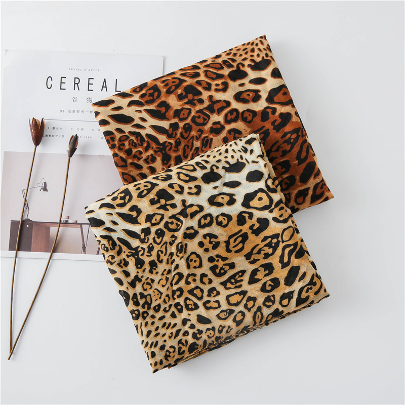 KYQIAO шарф женский long wild leopard scarf women autumn Spain style fashion long leopard scarf pashmina Sjaal Muslim Hijab