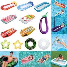 Colchón inflable de verano, piscina, piscina, inflable, sillón de natación, diversión interactiva, colchón de aire suave de Material ambiental